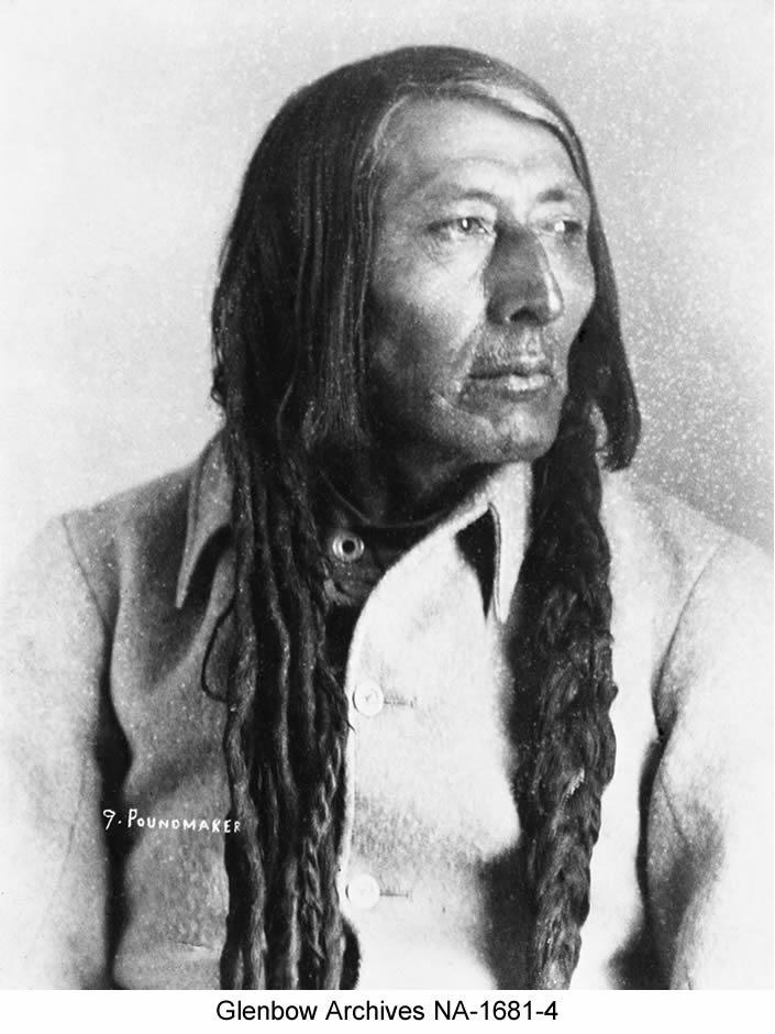 Poundmaker, Cree Chief